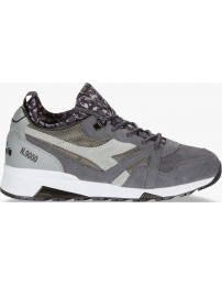 Diadora sports shoes n9000 camo socks