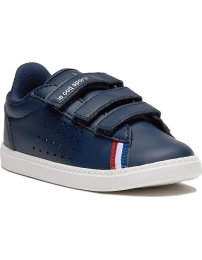 Le coq sportif sapatilha courtstar leather inf