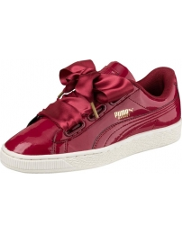 Puma sports shoes basket heart patent w