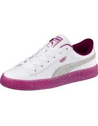 Puma sports shoes basket iced glitter 2 jr