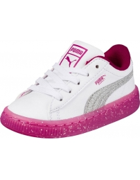 Puma sports shoes basket iced glitter 2 inf