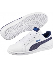 Puma tênis smash denim fs jr