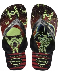 Havaianas chinelo max star wars kids