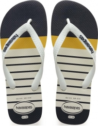 Havaianas flip flop top nautical