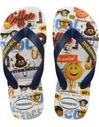Havaianas chinelo emoji movie kids