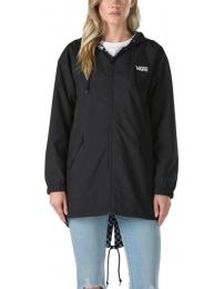 Vans chaqueta c/gorrauz mercy reversible checkerboard w