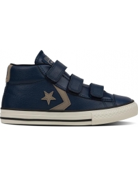 Converse sapatilha star player 3v mid jr