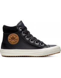 Converse sapatilha all star chuck taylor boot hi jr