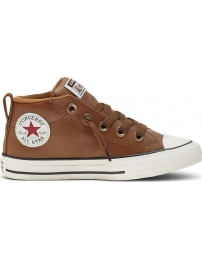 Converse sports shoes chuck taylor street mid jr