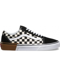 Vans sapatilha old skool gum block jr
