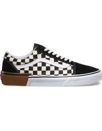 Vans sports shoes old skool gum block jr