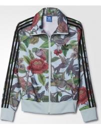 Adidas casaco florera firebird tt w