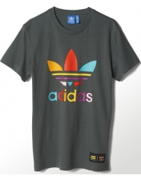 Adidas t-shirt super color trefoil pharrell williams