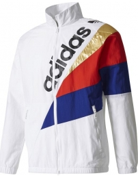 Adidas overcoat tribe track top windbreaker