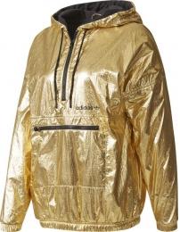 Adidas chaqueta c/ gorrauz golden w