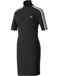 Adidas vestido 3 stripes hi neck