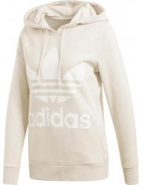 Adidas sweat c/ gorrauz trefoil w