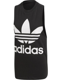 Adidas t-shirt alças trefoil tank w