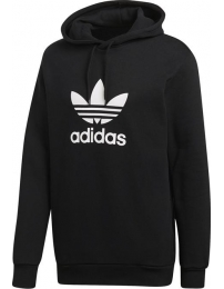 Adidas sweat c/ gorrauz trefoil warm-up