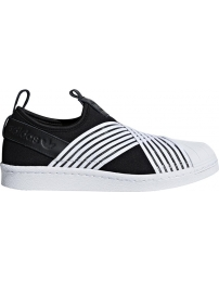 Adidas sports shoes superstar slip on w