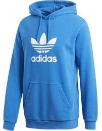 Adidas sweat c/ capuz trefoil warm-up