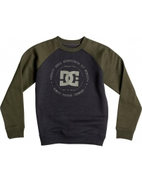Dc sweat rebuilt 2 crew raglan boy