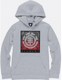 Element sweatshirt c/ capuz log jam boy