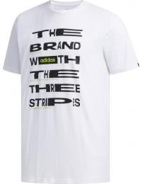 Adidas t-shirt distorted font