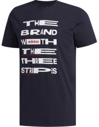 Adidas t-shirt distorted font