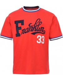 Franklin & marshall camiseta retro letterbox