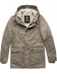 Franklin & marshall casaco c/ capuz nylon zip