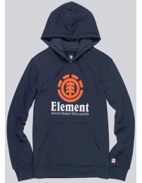 Element sweat c/ capuz vertical