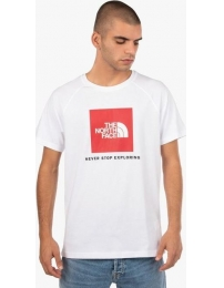 The north face camiseta red box