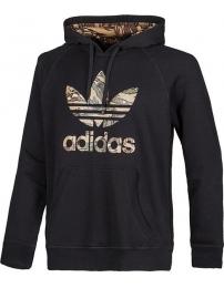Adidas sweat c/capuz city camo trefoil
