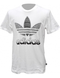 Adidas t-shirt trefoil fill in graphic