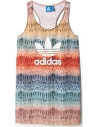 Adidas t-shirt alças menire logo w