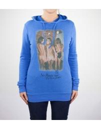 Boombap pants hoodie r-neck rib woman
