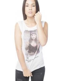 Boombap mind tee r-neck rib women