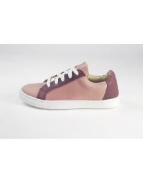 Zapatilla rosa bordo