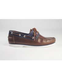 Zapato brown navy