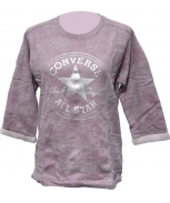 Converse sweatshirt wedge crew mettalic ft w