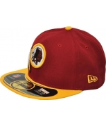 New era bone nfl on field wasred