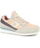 Le coq sportif sapatilha eclat atl metallic leather mix w