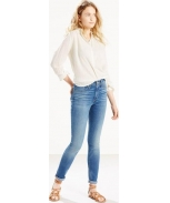 Levis trouser of ganga 721 high rise skinny w
