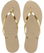 Havaianas flip flop you metallic w