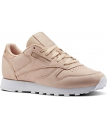 Reebok zapatilla classic leather nude nbk w