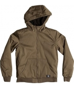 Dc overcoat c/ capuz ellis boy
