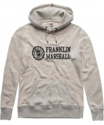 Franklin & marshall sweatshirt c/ capuz fleece
