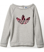 Adidas sweat crew fleece jr