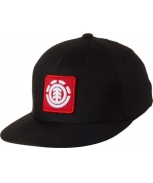 Element gorra fenwick black jr